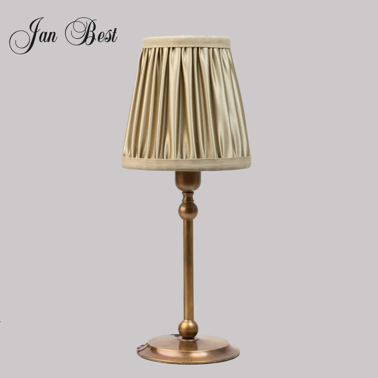 Jan-Best-tafellamp-met-stoffen-kap-schemer-lamp-nostalgische-verlichting-aalsmeer