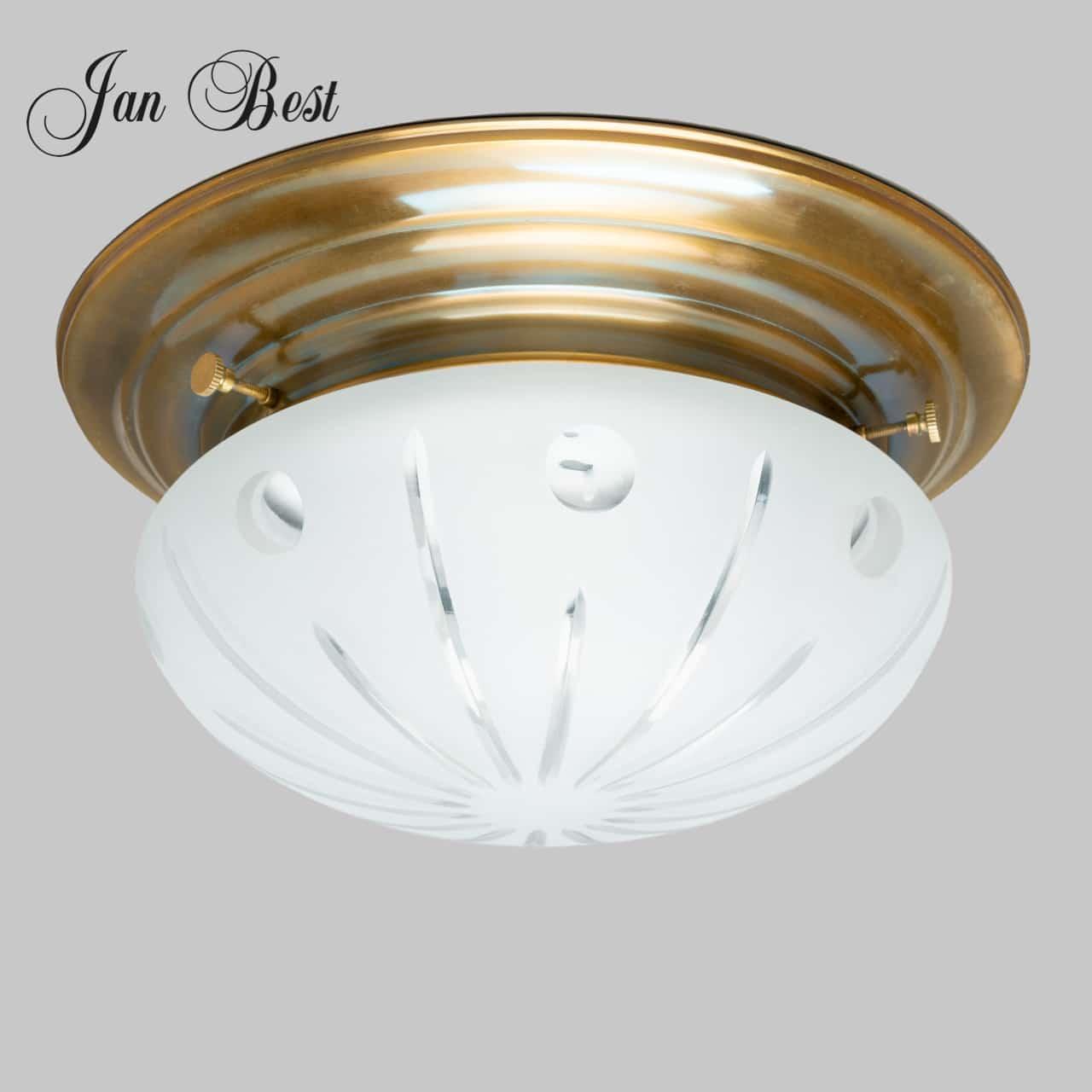 jan-best-plafonnier-keuken-badkamer-lamp-nostalgische-horeca-klassieke-verlichting-messing-geslepen-glas