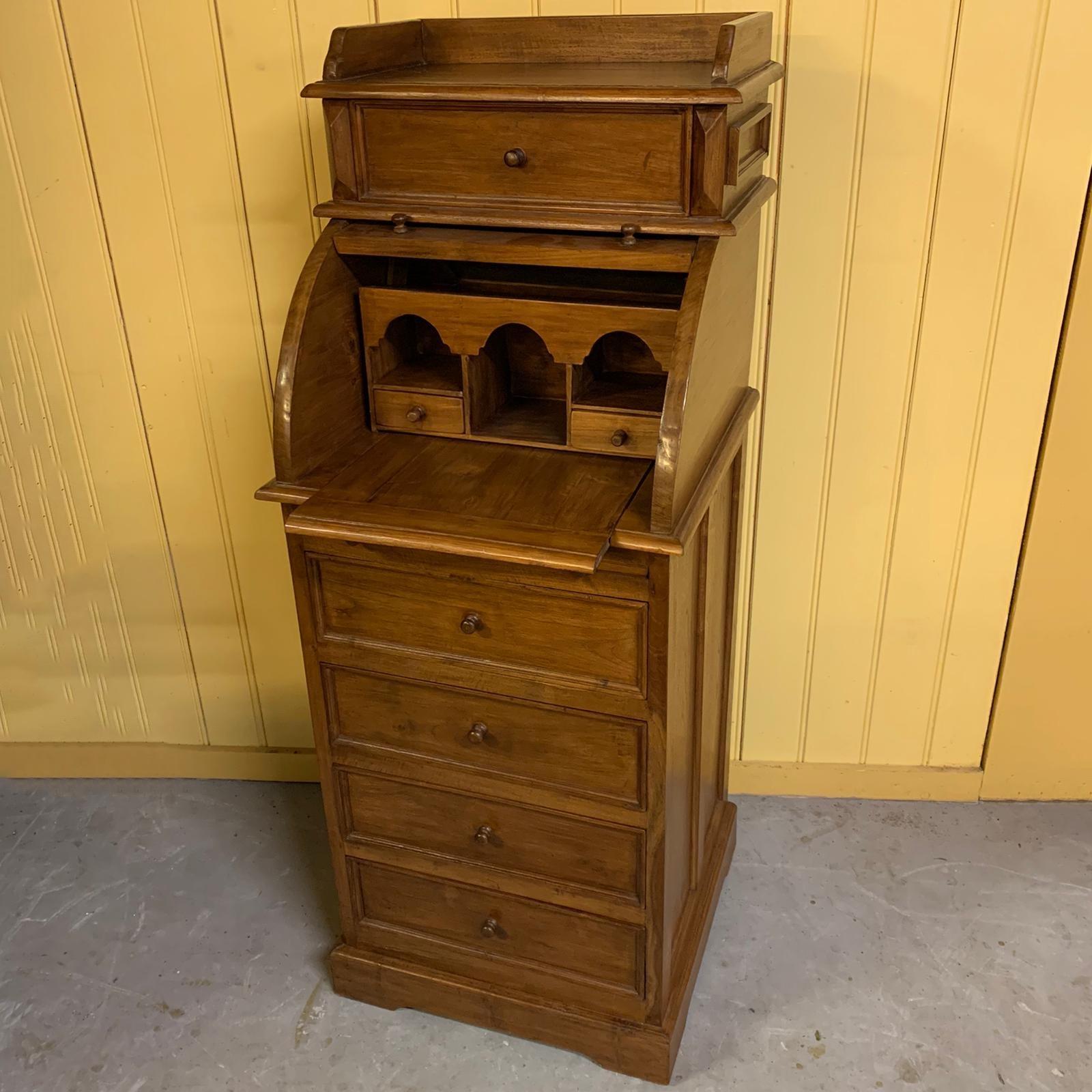 teak-hout-bureau-koloniaal-secretaire-jan-best-aalmeer-meubelen