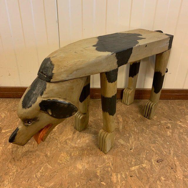 kinder-houten-tijger-honden-bankje-jan-best-aalsmeer